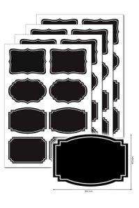Kreideetiketten 32 Stück, Typ E
