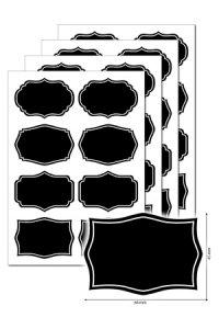 Kreideetiketten 32 Stück, Typ D