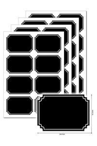 Tafeletiketten 32 Stück, Typ C