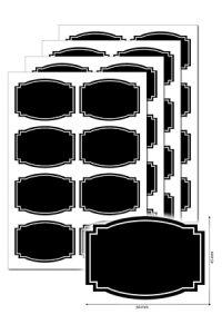 Kreideetiketten 32 Stück, Typ A