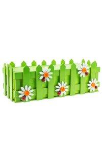 Holzbox Frühling mit Styroporblock