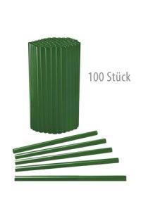 Trinkhalm wiederverwendbar 14 cm, Ø 7,7 mm grün, 100 Stück