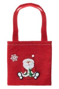 Filztasche Weihnachtsmann 14,5 x 1,6 x 14,5 cm