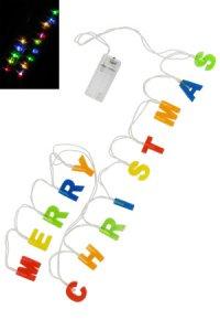 Lichterkette Merry Christmas, 14 LEDs