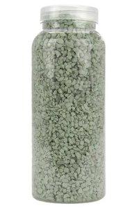 Dekosand grob 1 kg, blassgrün