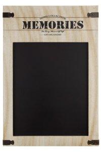 Kreidetafel Memories 50 x 34 cm
