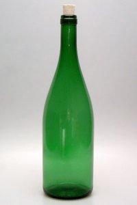 Weinflasche 1000 ml grün