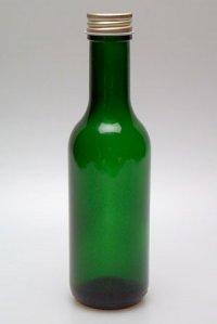 Geradhalsflasche  187 ml grün