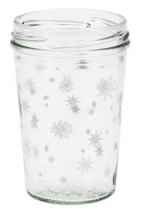Becherglas 150 ml TO 66 Sterne weiß