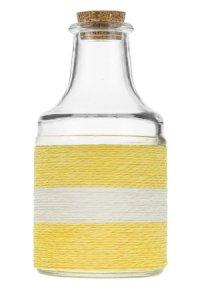 Dekoflasche California 200 ml gelb