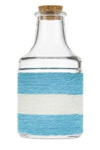 Deko-Flasche California 200 ml türkis