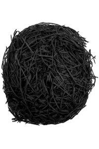Papiergras schwarz, 30 g