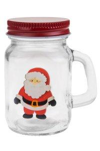 Henkelglas Weihnachts-/Wintermotiv 135 ml