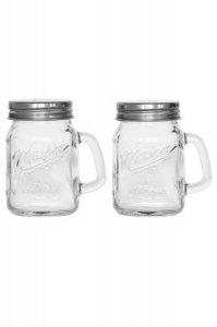 Salz- und Pfefferstreuer Henkelglas 120 ml, 2er Set