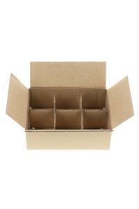 Karton 214 x 145 x 74 mm, 6er Gefache