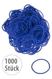 Elastische Schlaufen 40 mm, blau, 1000 Stück