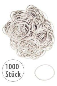 Elastische Schlaufen 40 mm, creme, 1000 Stück