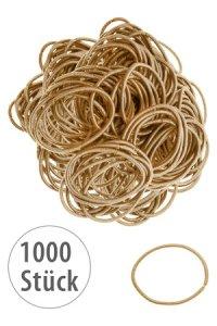 Elastische Schlaufen 40 mm, gold, 1000 Stück