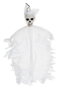 Hängender Geist, 38 cm, weiß