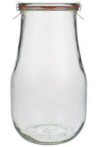 WECK-Tulpenglas 2 1/2 Liter - VIERERPACK