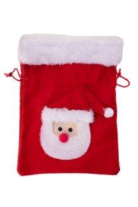 Weihnachtssäckchen 21 x 15 cm Santa