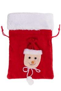 Weihnachtssäckchen 21 x 15 cm Schneemann