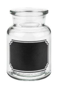 Korkenglas 150 ml mit Tafel - 2. WAHL
