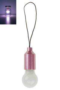 LED Dekoanhänger Glühbirne mit Farbwechsel, 5,5 cm
