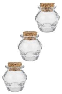 Korkenglas Henkelglas 30 ml, 3er Pack