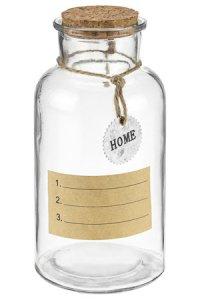 Deko-Korkenglas 550 ml