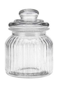 Vorratsglas mit Facetten  650 ml