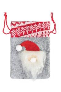 Weihnachtssäckchen Nikolaus 14 x 11 cm