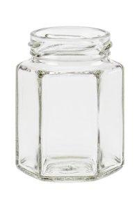 Sechseckglas 110 ml