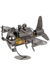 Wein-Flaschenhalter Flugzeug