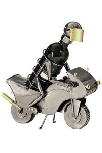 Wein-Flaschenhalter Rennmotorrad