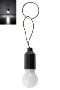 Schlüsselanhänger Glühbirne, LED
