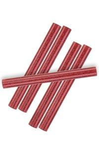 Heißklebestifte rot, 10 x 100 mm, 6 Stück