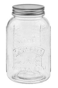 Schraubglas Mason 750 ml mit Deckel