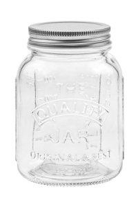 Schraubglas Mason 500 ml mit Deckel