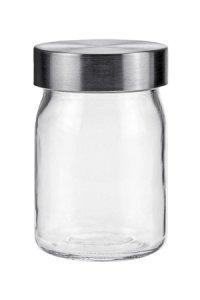 Vorratsglas  230 ml mit Edelstahlverschluss