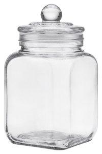 Vorratsglas 1200 ml quadratisch