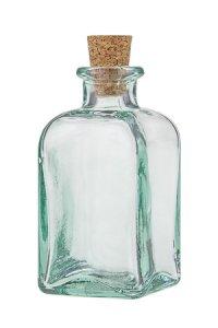 Korkenflasche  100 ml quadratisch