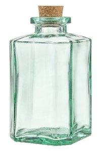 Korkenflasche 1000 ml quadratisch