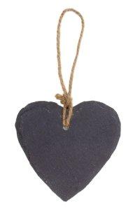 Anhänger Herz aus Schiefer 8 cm
