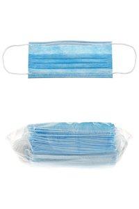 Einweg Gesichtsmaske, 3-lagig, 50er Pack