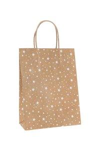 Geschenktüte Sterne 190 x 90 x 250 mm