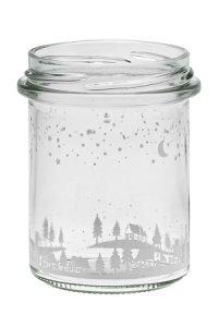 Sturzglas 214 ml Winterlandschaft