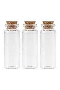 Minikorkenflasche 15 ml, 3er Pack