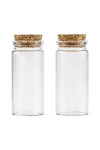 Minikorkenflasche 60 ml, 2er Pack