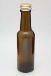 Geradhalsflasche  150 ml braun